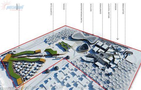 Ngắm thành phố xanh dùng năng lượng mặt trời ở Dubai