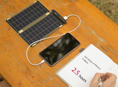 Solar Paper - bộ sạc pin năng lượng mặt trời mỏng như giấy