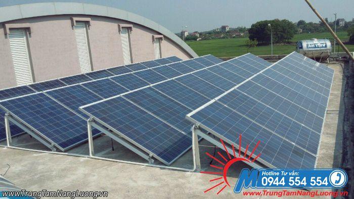 Những tấm pin năng lượng mặt trời có hiệu quả cao.