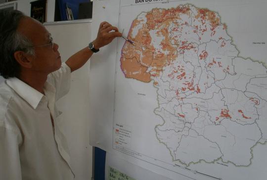 Nhiều dự án nhà máy điện năng lượng mặt trời sẽ xây dựng trên đất lâm nghiệp ở huyện Ea Súp, tỉnh Đắk Lắk