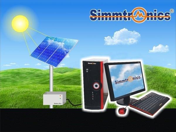 Simmtronics - PC chạy bằng năng lượng mặt trời